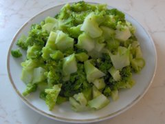 Rozkrájná brokolice